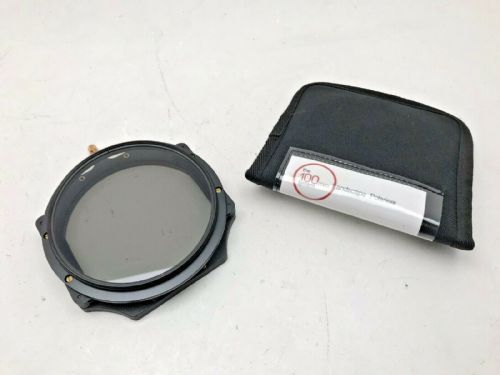 Lee Filters 105mm screw in circular polarising Filter with pouch and adapter rin